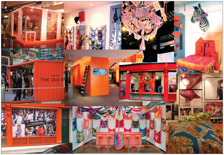 Đây chính là những cửa hàng Pop-up của Hermès trên toàn thế giới.