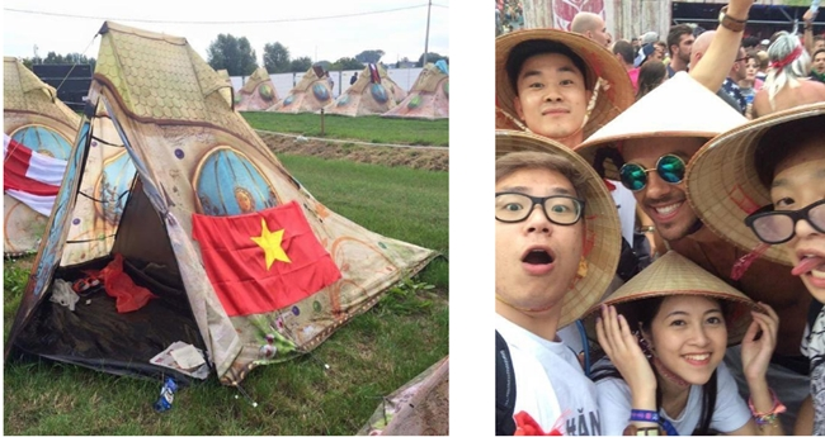 Giới thiệu văn hoá Việt Nam tới cộng đồng nước ngoài.