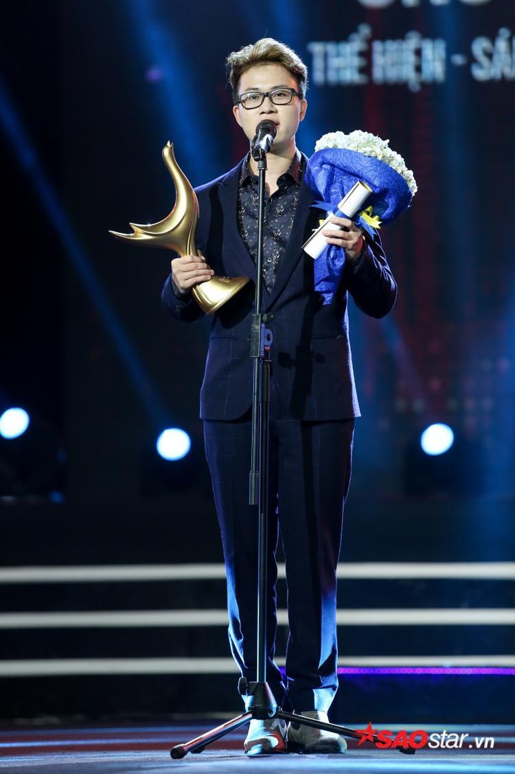 Thí sinh Sing My Song nhận giải Ca khúc của năm với hit Ông bà anh.