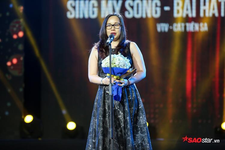 Tuy là lần đầu tiên tổ chức nhưng Sing My Song vẫn vinh hạnh được xướng tên tại giải thưởng Chuỗi chương trình của năm.