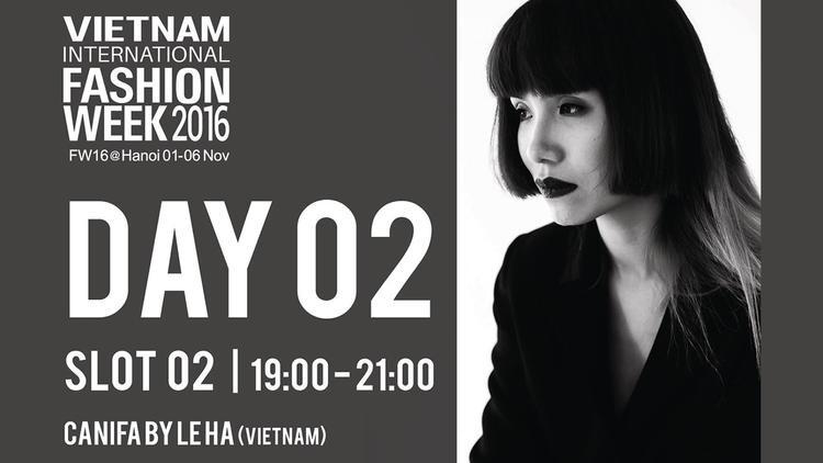 Hôm nay Lilly Nguyễn là gương mặt mở màn trong show diễn Canifa by Lê Hà thuộc khuôn khổ tuần lễ thời trang quốc tế Việt Nam Xuân Hè 2017.