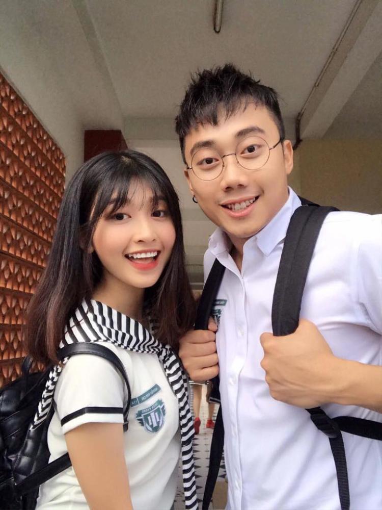 Hình tượng cô gái đáng yêu trong phim của Kim Chi chiếm trọn trái tim khán giả.
