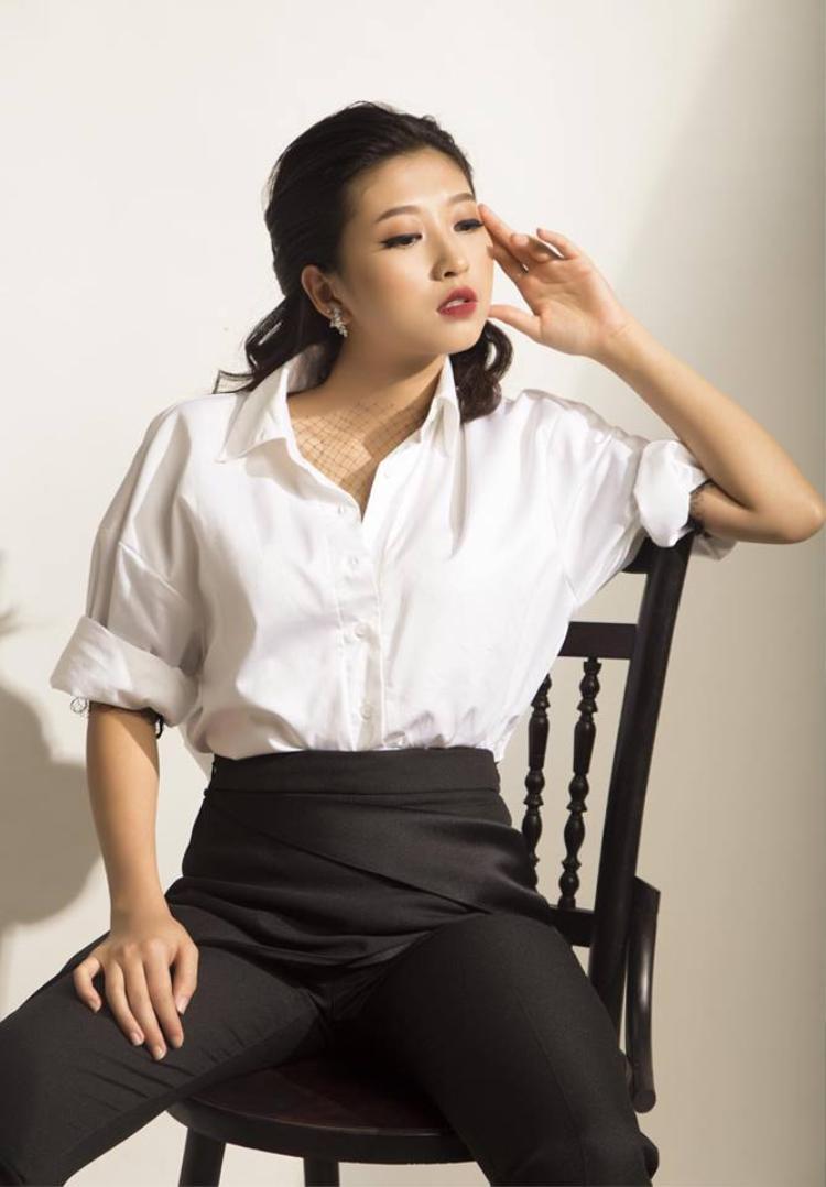 Kim Chi luôn nỗ lực thay đổi hình ảnhtrong mắt khán giả.