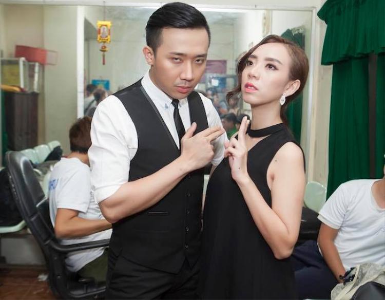 Thu Trang cảm thấy lo lắng cho Trấn Thành khi anh chính thức lên tiếng về những lùm xùm vào ngày hôm qua.