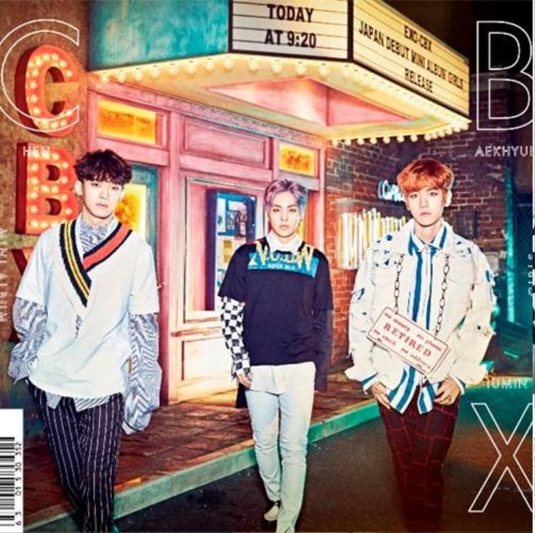 EXO-CBX cùng album debut tại Nhật: Girls.