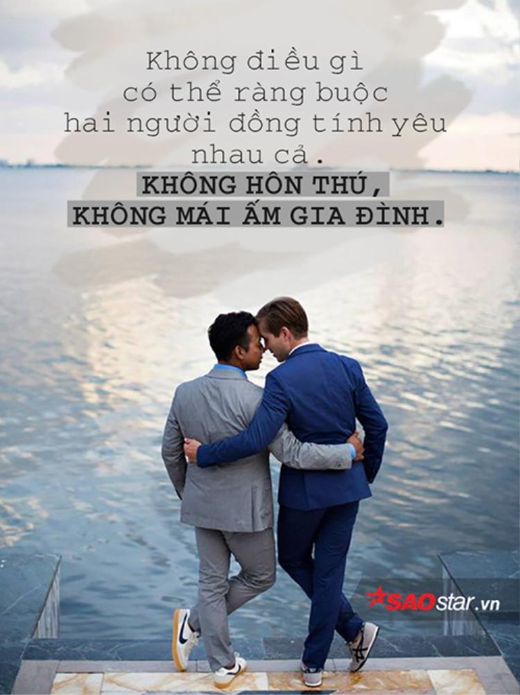 Ràng buộc và vụ lợi, có chăng là tên gọi khác cho tình yêu đồng giới?