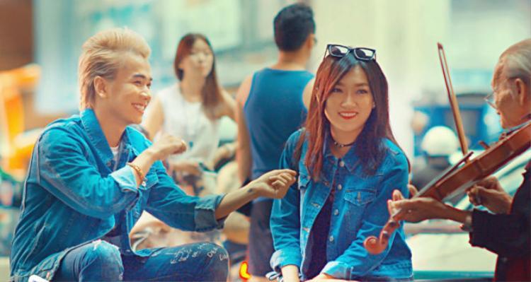 """Lou Hoàng cùng MV đầu tư """"khủng"""" trên đất Thái."""