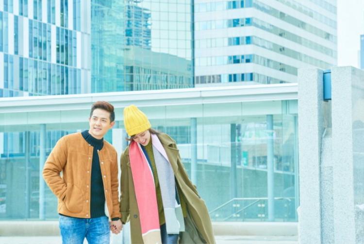 Đông Nhi và Ông Cao Thắng trong MV I Wanna Be Your Love.