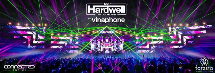 Sân khấu của Hardwell by Vinaphone sẽ là sân khấu âm nhạc hoành tráng nhất từ trước đến nay tại Việt Nam.