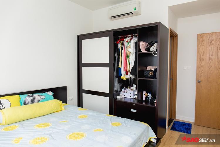 Phòng ngủ khá rộng rãi, thoáng mát.