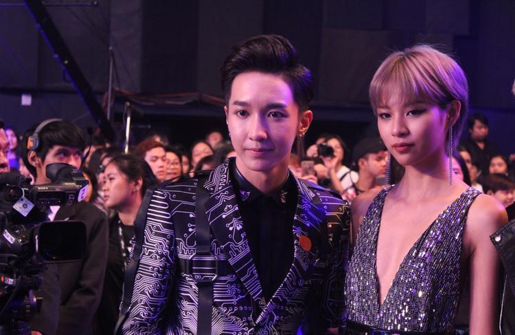 Phí Phương Anh và Key (MONSTAR) là 2 gương mặt đại diện Việt Nam góp mặt trong đêm chung kết The Face Thailand vừa qua.