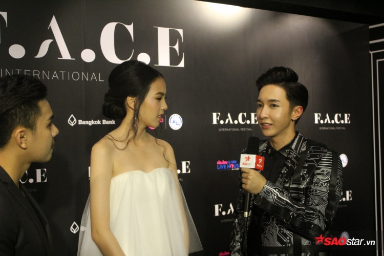 Key (MONSTAR) cũng có mặt trong đêm chung kết The Face Thailand mùa 3…