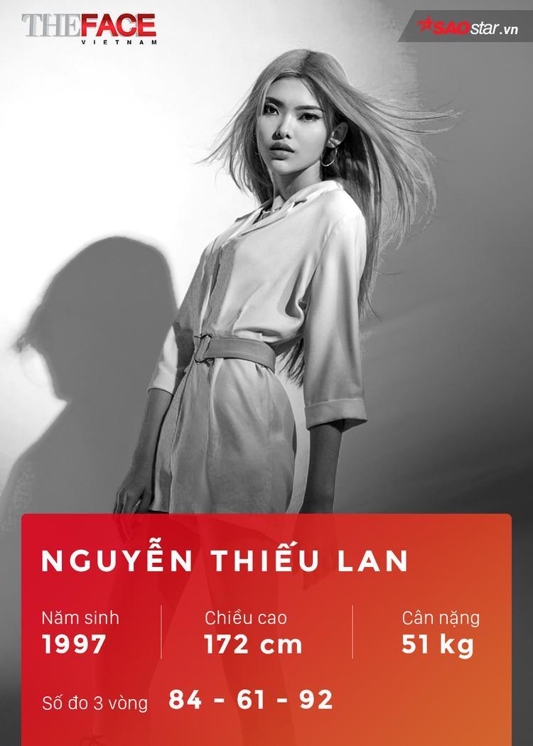 Sở hữu gương mặt khả ái với những đường nét góc cạnh cá tính, Thiếu Lan toát lên thần thái như những người mẫu chuyên nghiệp. Đặc biệt, sau khi được nhiều khán giả biết đến thông qua Hoa hậu Việt Nam 2016, Next Top Model, cô nàng tiếp tục ước mơ với The Face Việt Nam mùa thứ 2.