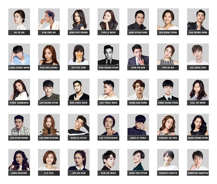"""Đây chính là những gương mặt nổi bật trong """"vườn hoa""""YG Studio Plex."""