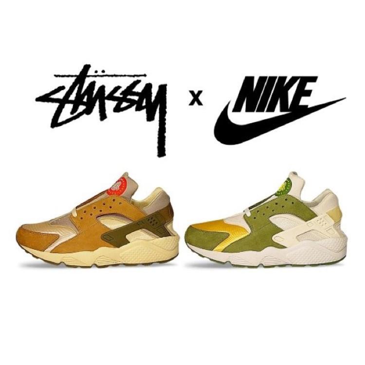 """Sau ngần ấy năm, người ta vẫn không quên cái tên minh chứng cho lần """"bắt tay"""" đầu tiên giữaStüssy và dòngNike Air Huarache. Thời điểm một thương hiệu streetwear kết hợp """"ông lớn"""" sneaker vẫn còn mơ hồ lạ lẫm thì cụm từStüssyx Nike Air Huarachen LE đã thật sự gây tiếng vang không thể chối từ."""