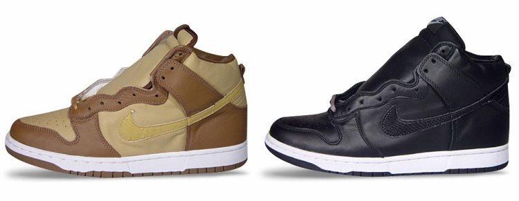 Stüssyx Nike Dunk High (2001).