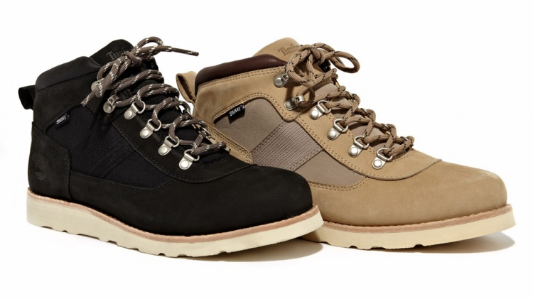 StüssyDeluxe x Timberland NM Field Boots (2012).