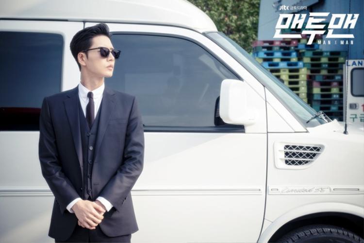 Park Hae Jin và hình ảnh quá chất, quá ngầu trong Man to Man.