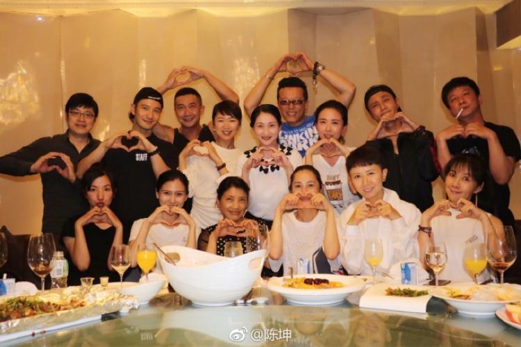 Huỳnh Hiểu Minh  Angelababy tái ngộ Trần Khôn nhân kỷ niệm 20 năm ngày họp lớp
