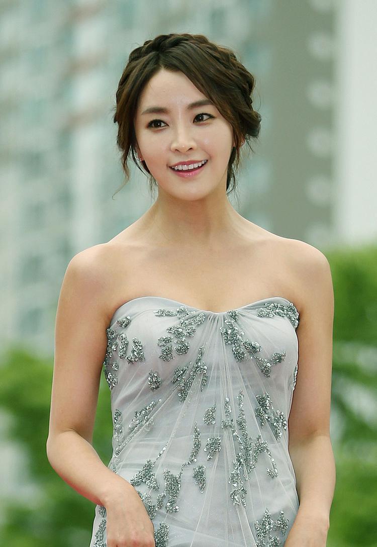 Nữ diễn viên Jung Yoomi - người về nhất trong cuộc bình chọn này.