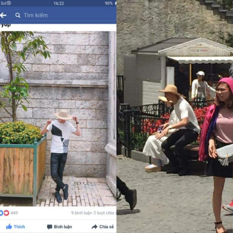 Fan khẳng định Võ Cảnh đi du lịch Đà Nẵng cùng gia đình Angela Phương Trinh.