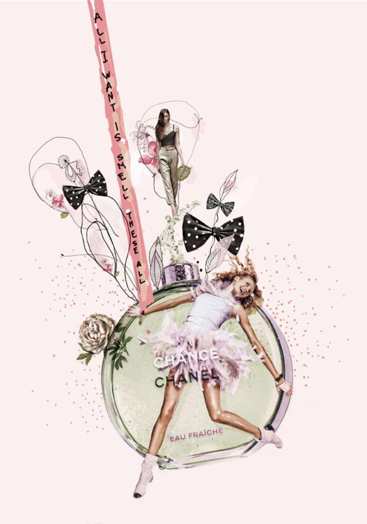 Một lời mời gọi thật tươi mát, lời hứa tràn ngập hạnh phúc là những gì để nói về ChanelChance Eau Fraiche.Mở đầu với hương cam chanh và hoa thuỷ tiên thuần khiết, kếtiếp là giấc mộng phảng phất hoa lài và tầng hương cuối gồm các loại gỗ và thảo mộc sẽ cho bạn cảm nhận mới mẻ và tràn đẩy sức sống. Có thể nói Eau Fraicheđã đưa hương thơm truyền thống của Chanel lên tầm cao hoàn toàn mới.