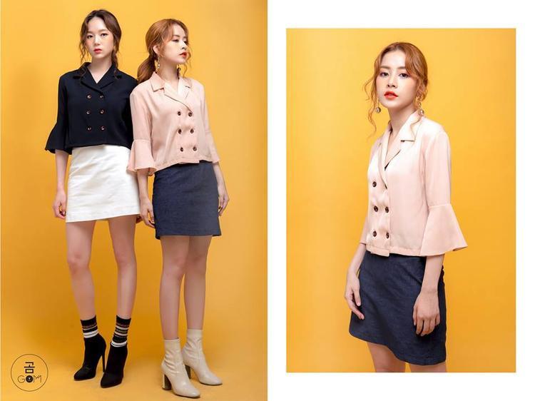 Chi Pu là một trong những tín đồ có niềm đam mê với style Hàn Quốc rất mãnh liệt.