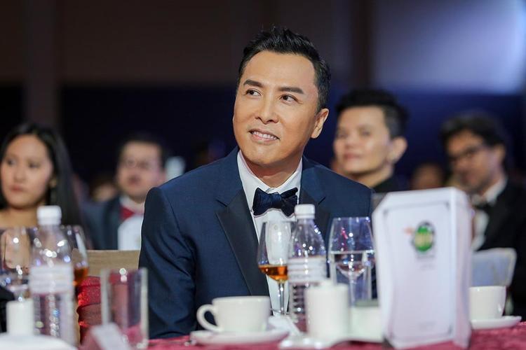 Diễn viên nổi tiếng Chân Tử Đan cũng có mặt trong sự kiện điện ảnh này.