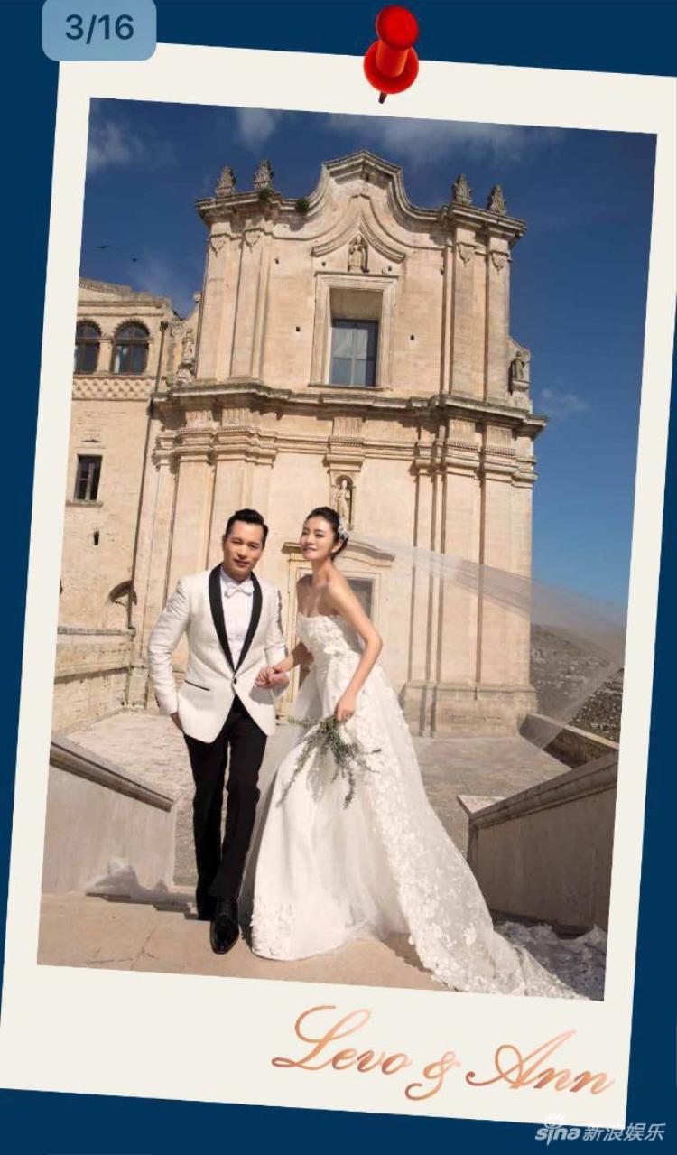 """Tấm thiệp ghi tên tiếng anh của cặp đôi: """"Levo & Ann""""."""