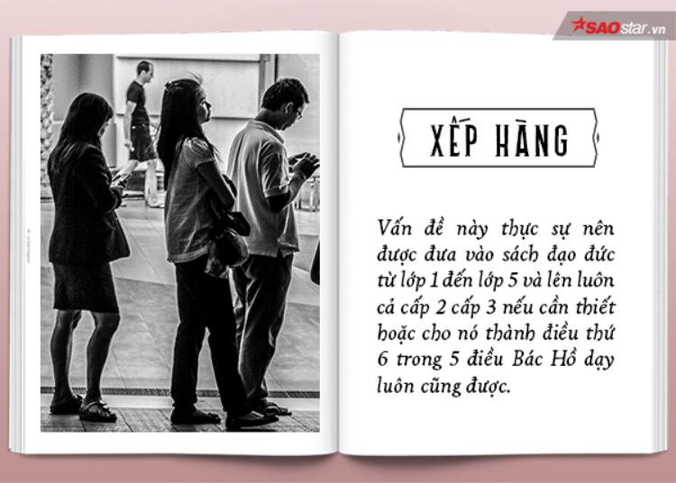 Chùm ảnh: 14 phép lịch sự tối thiểu nhưng người Việt chẳng biết bao giờ mới làm được