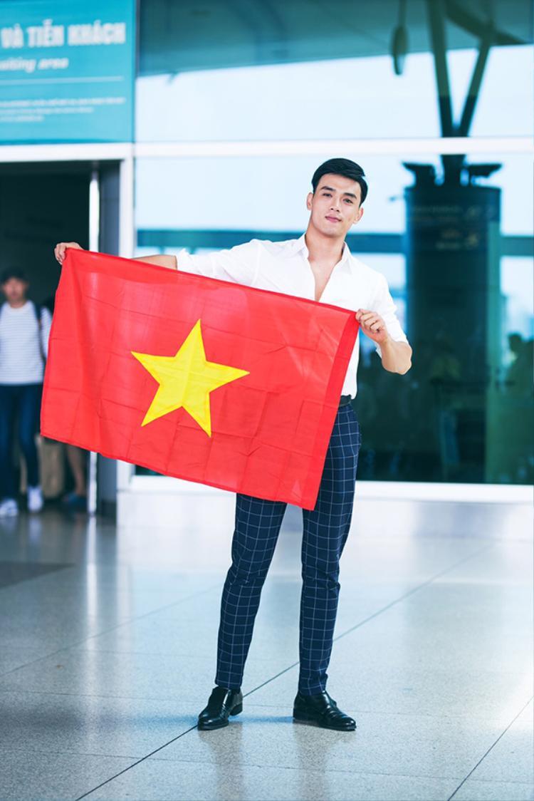 Sở hữu hình thể đáng mơ ước của một siêu mẫu 1m88 cùng body 6 múi chuẩn cộng với khuôn mặt điển trai , Thuận Nguyễn sẽ là niềm hy vọng của Việt Nam tại đấu trường này.