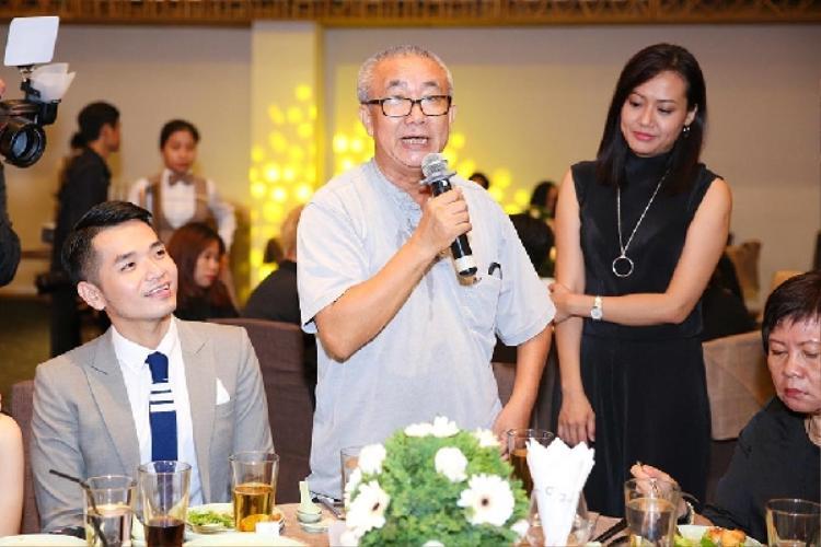 Cô cũng dành lời cảm ơn đến nhà văn/biên kịch Nguyễn Quang Lập…