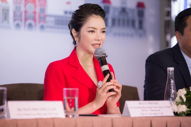 Lý Nhã Kỳ không ngần ngại chi 25 tỷ đồng để đưa hình ảnh Việt Nam đến Cannes 2017.