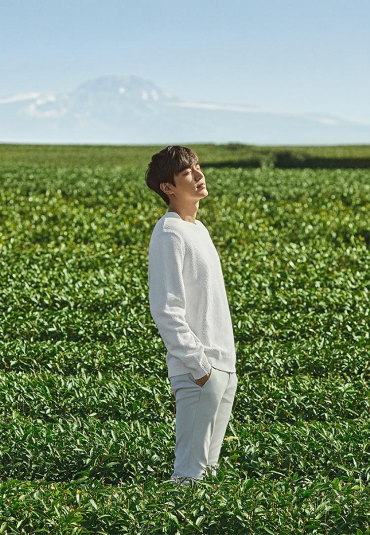 Lee Min Ho tung bộ ảnh vui vẻ trước ngày nhập ngũ