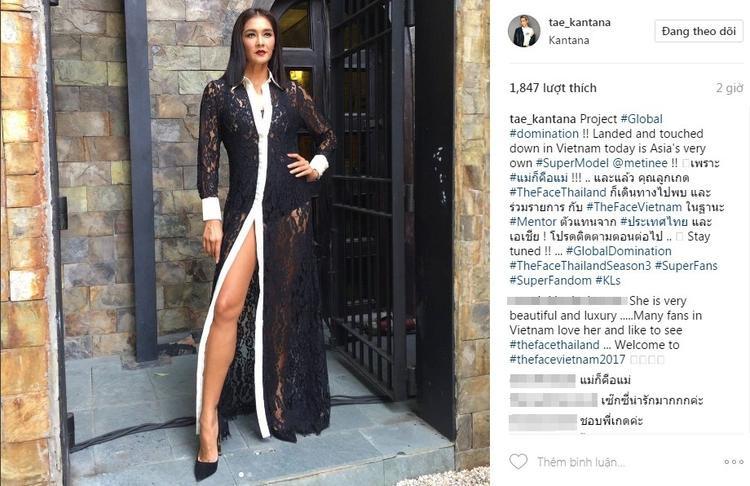 Dòng chia sẻ đầy ẩn ý của NSX The Face Thailand…