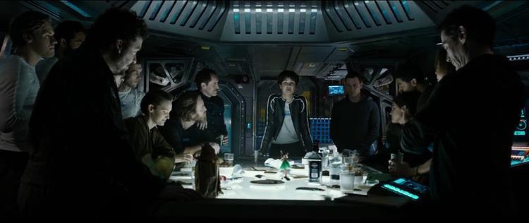 Phi hành đoàn của tàu Convenant.