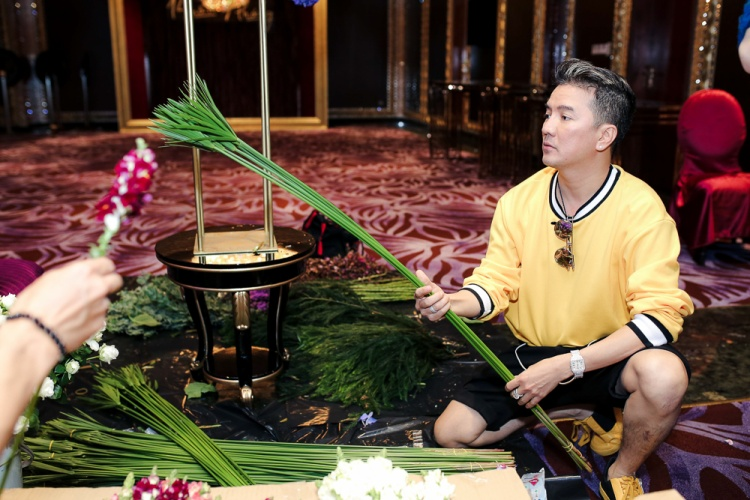 Dù nhiều lần kết hợp ăn ý trên sân khấu, Mr. Đàm và Dương Triệu Vũ vẫn muốn đầu tư cho các tiết mục được trình diễn trong buổi tiệc chỉnh chu, ấn tượng nhất.