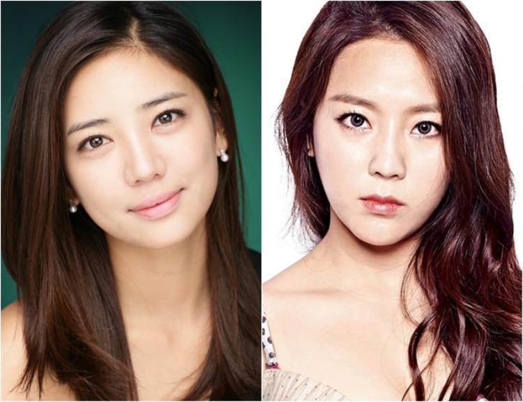 Lee Tae Im (phải) và Yewon (trái) từng là tiêu điểm các mặt báo vì cuộc chiến giữa hai chị em.