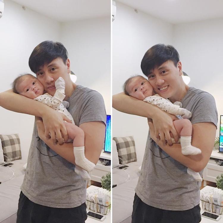 Bên cạnh việc hoạt động nghệ thuật, kinh doanh, Kiên Hoàng dành thời gian còn lại để chăm sóc bé Cam - con gái cưng của mình. Bé Cam hiện tại còn có hẳn một trang riêng trên Instagram, thu hút 34,000 lượt theo dõi.