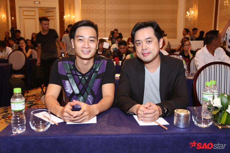 Slim V và nhạc sĩ Dương Khắc Linh