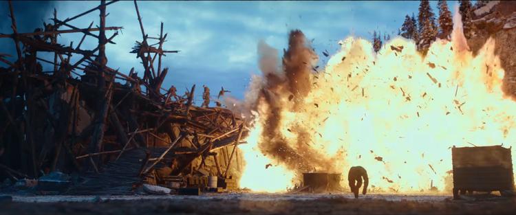 Trailer phô bày nhiều phân cảnh hành động đúng nghĩa một tác phẩm bom tấn.