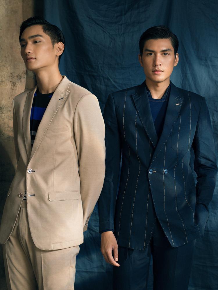 Các chàng trai có thể khéo léo kết hợp những thiết kế áo sơ mi, blazer, quần tây và áo khoác dài với tính nhẹ đặc trưng, mang đến sự mát mẻ tuyệt đối trong những ngày thời tiết nóng.