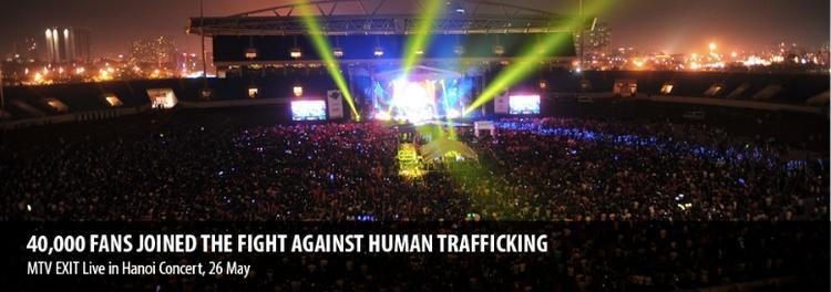 MTV Exit với hơn 40,000 fans hâm mộ tham dự tại SVĐ Mỹ Đình.