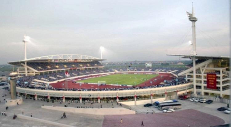 Sân Vận động Quốc Gia Mỹ Đình được lựa chọn làm địa điểm chính thức của chương trình.