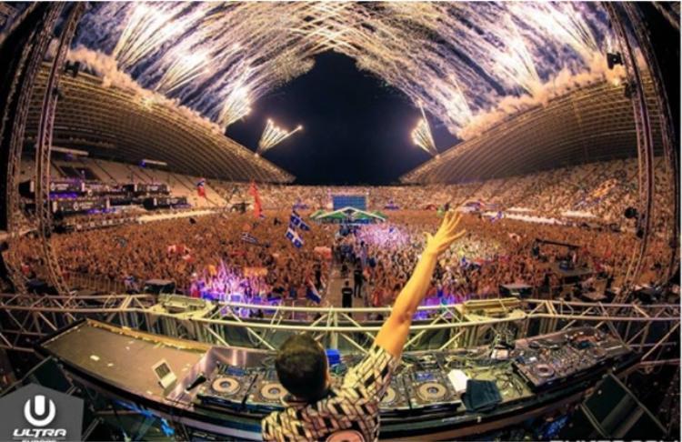 Ultra Europe được tổ chức hoành tráng trong khu vực sân vận động.