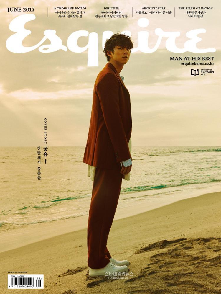 Gong Yoo tạo kỷ lục khi xuất hiện trên bìa tạp chí nhiều nước châu Á