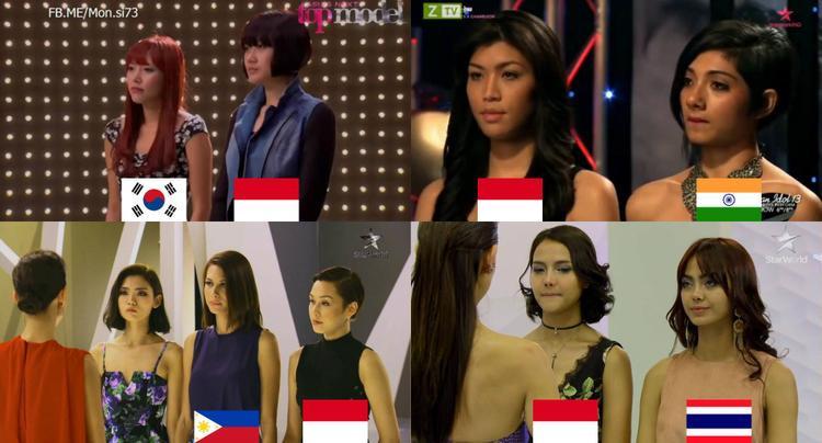 """Phát hiện thú vị của một fanpage về """"lời nguyền loại kép"""" dành cho thí sinh đến từ Indonesia."""
