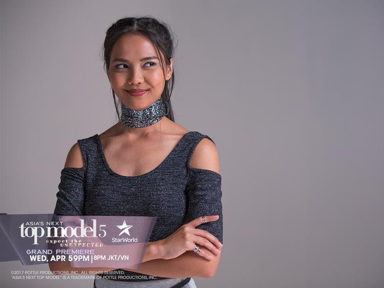 Valerie, 1 trong 3 đại diện của Indonesia năm nay.