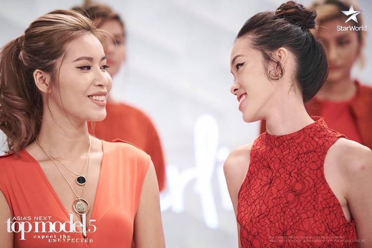 Minh Tú và Layla là đôi bạn thân thiết nhất tại Asia's Next Top Model năm nay.