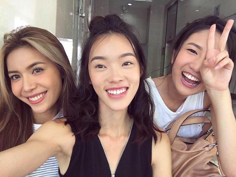 """Minh Tú - Cindy - Layla tạo thành bộ ba """"good girl"""" ngọt ngào."""